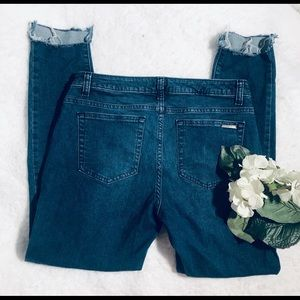 💙MICHAEL KORS Izzy Skinny cropped jeans